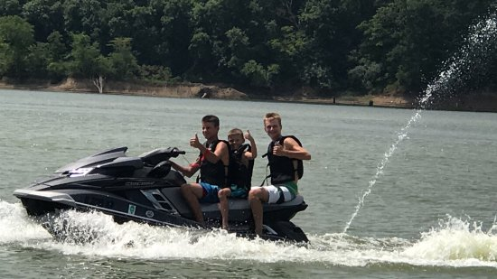 Shelbyville, IL: Another awesome day on the lake with my boys.