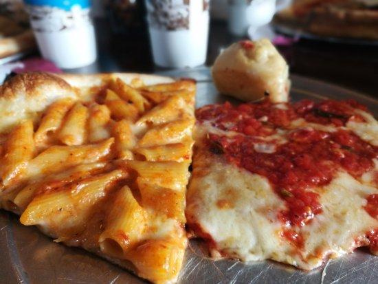 Italian Touch Restaurant & Pizza: Pizza con pasta