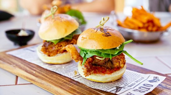 Mount Lawley, Australia: Soft Sheel Crab Sliders