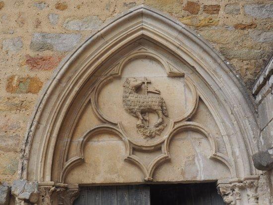 Abbaye Royale de L'Epau: Doorway Embelishment