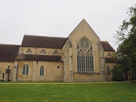Abbaye Royale de L'Epau: Rear Exterior view