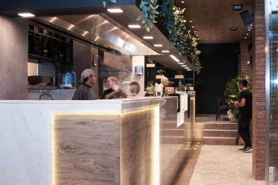 Kitchen Pasta Modern Open Italian Restaurant