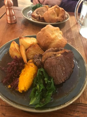 Litton, UK: Superb Sunday Roast!