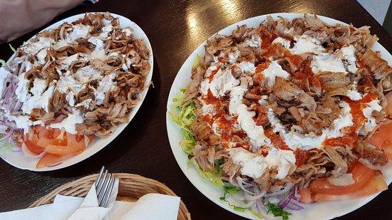 Anatolia Doner Kebab: Kebab Plate