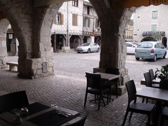Eymet, France: coin repas du restaurant
