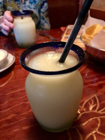 El Tapatio: Smooth, creamy and delicious lime margarita.