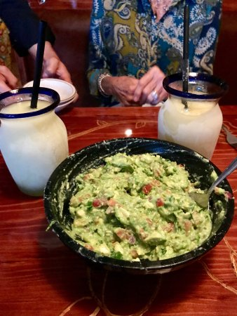 El Tapatio: The best made at the table (to your specifications) guacamole.