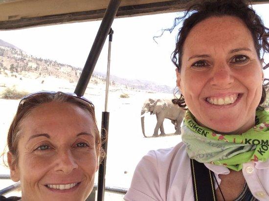 Región de Arusha, Tanzania: Selfie con elefante