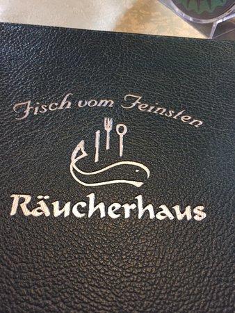 Räucherhaus: меню в ресторане содержит большой выбор блюд