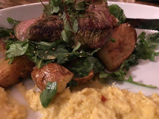 The Floridian: Steak frites (medium rare)