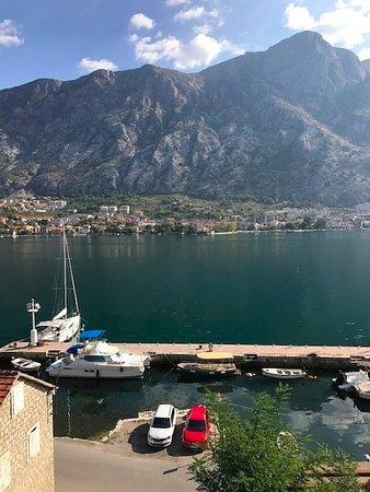 Muo, Μαυροβούνιο: Aussicht von der Terrasse