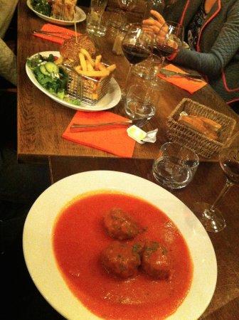 Schievelavabo: Boulettes sauce tomate