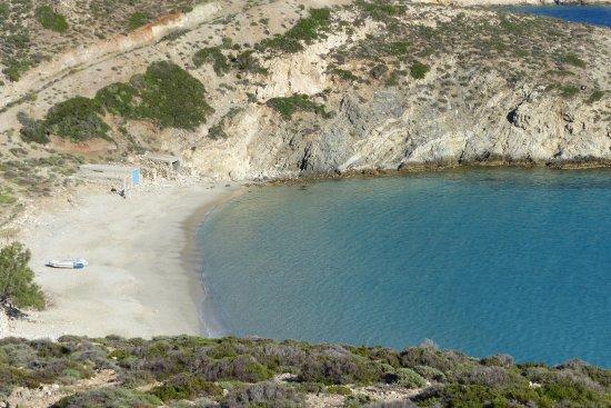 Donousa, Greece: Livadi beach