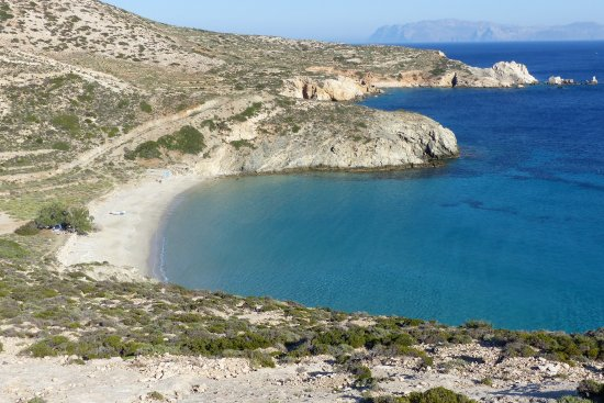 Donousa, Greece: Livadi beach