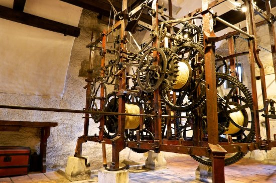 Kaspar Brunner amazing clockworks built in 1530 - Picture of