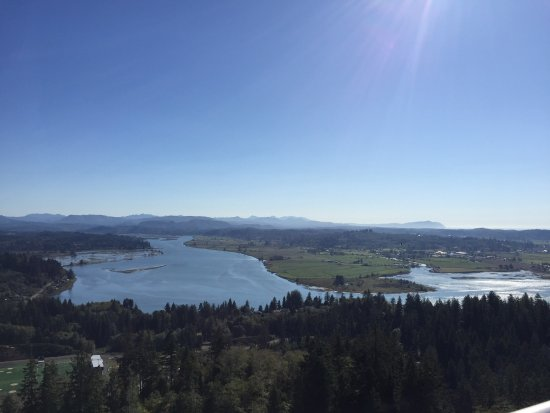Astoria Column: One view from the top of the column