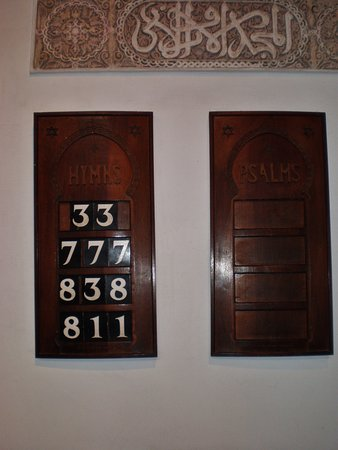 St Andrew: Tablillas de la antigua sinagoga