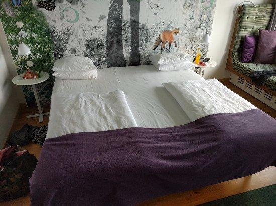 king size seng Lækker kingsize seng.   Billede af Scandic Copenhagen, København  king size seng