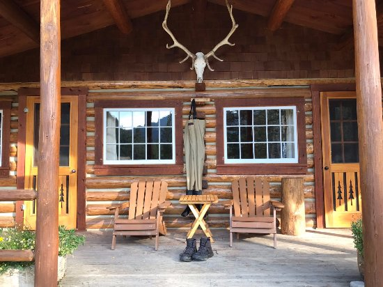 Flat Creek Ranch: Crissy Cabin