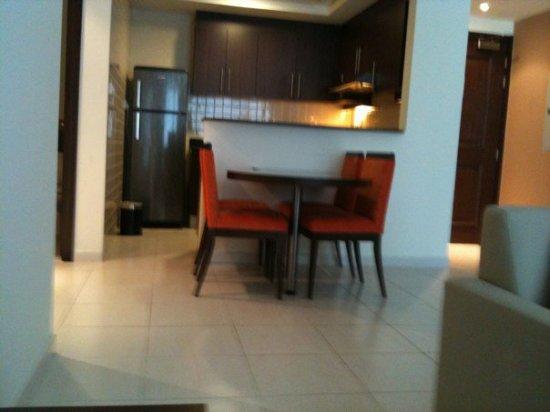 Abidos Hotel Apartment - Al Barsha: Dining area of room (apartment)