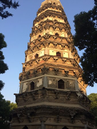 Tiger Hill: The Cloud Rock Leaning Pagoda.