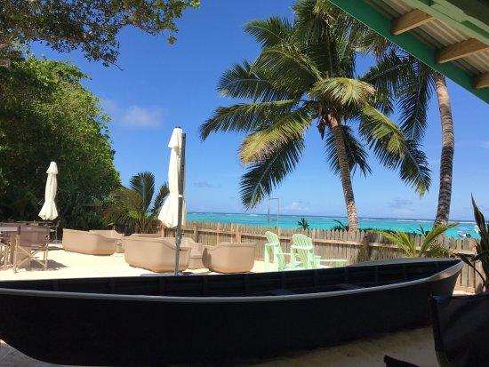 Anse Royale, Seychelles: Vue depuis la salle