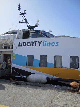 Lipari, Italien: Liberty in Milazzo sea-port