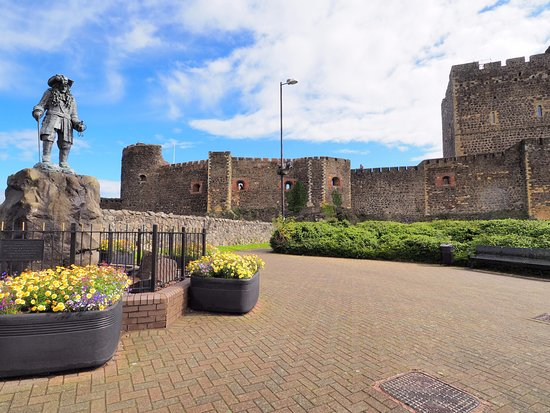 Carrickfergus, UK: castle