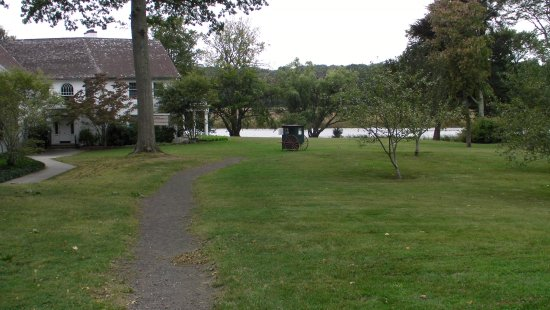Old Lyme, CT: from the garden to the river