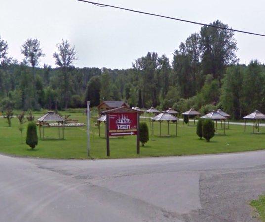 Ksan Historical Village: Entrance to 'Ksan
