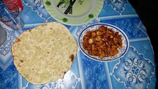 Don Det, Laos: Onion Naan und Garlic Chicken