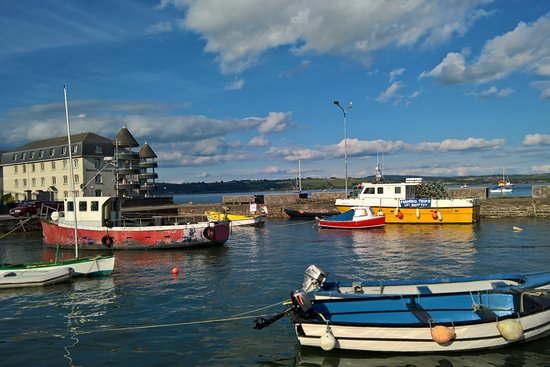 Ardmore, Ireland: The harbour at Youghal, a town recommended by Paul for its restaurants.