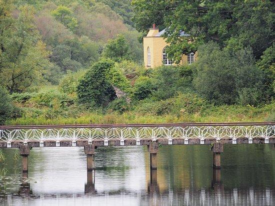 Newtownbutler, UK: bridge by boat house