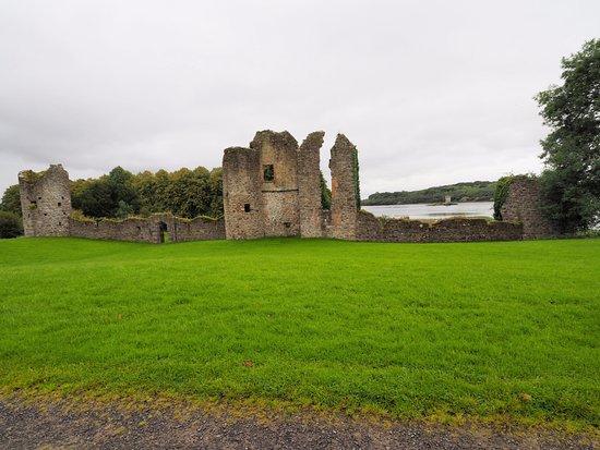 Newtownbutler, UK: castle ruins