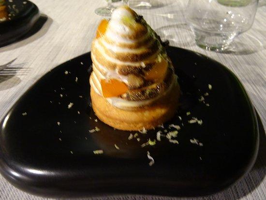 Montner, França: Tartelette citron meringuée