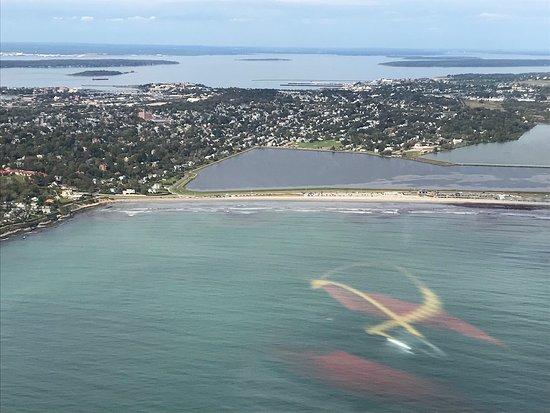 Bird S Eye View Helicopters Newport Beach Ri