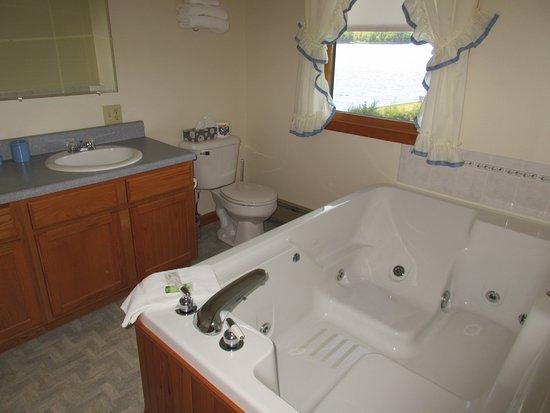 Γκρίνβιλ, Μέιν: bathroom with jacuzzi