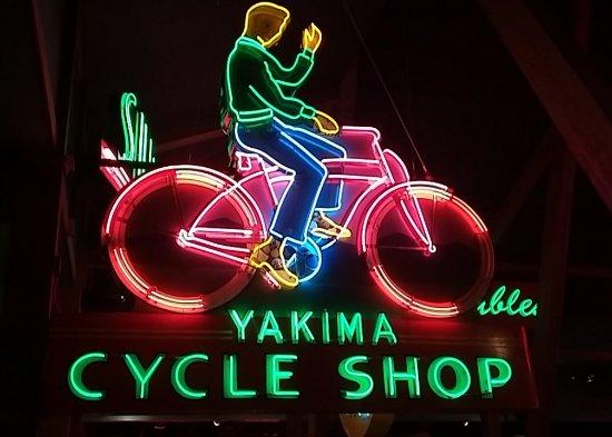 Yakima, WA: Animated neon