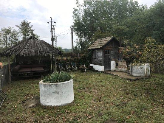Morahalom, Hungary: sauna and cabana