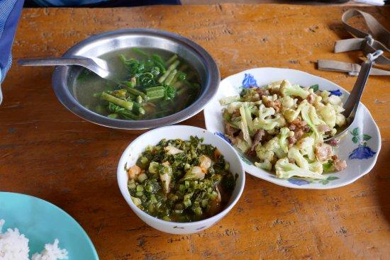 Lashio, Myanmar: Tasty food