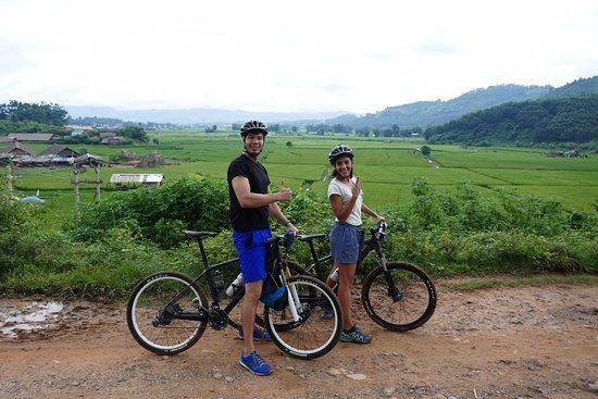 One bike day around Lashio!