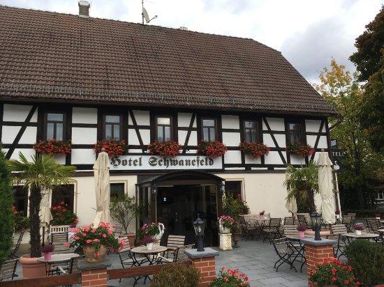 Meerane, Tyskland: Frontansicht