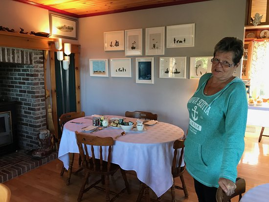 Grand Bank, Canada: Donna is a wonderful host