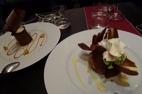 Les Deux Moineaux: desserts originaux