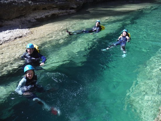 Bierge, Spain: canyoning