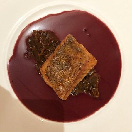 Солье, Франция: Sandre et fondue d'échalote