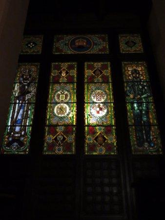 Province of Palermo, Itália: porta a vetri