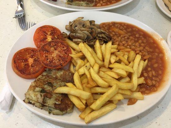 Denham, UK: Vegan breakfast