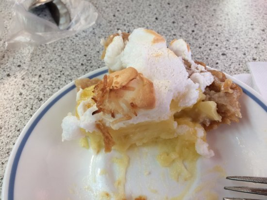 Monticello, KY: Coconut cream pie