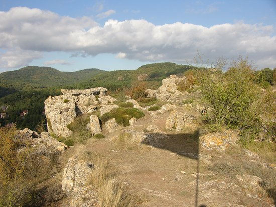 Prades, España: Vistas de la cima